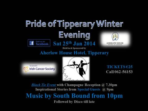 black tie irish cancer society